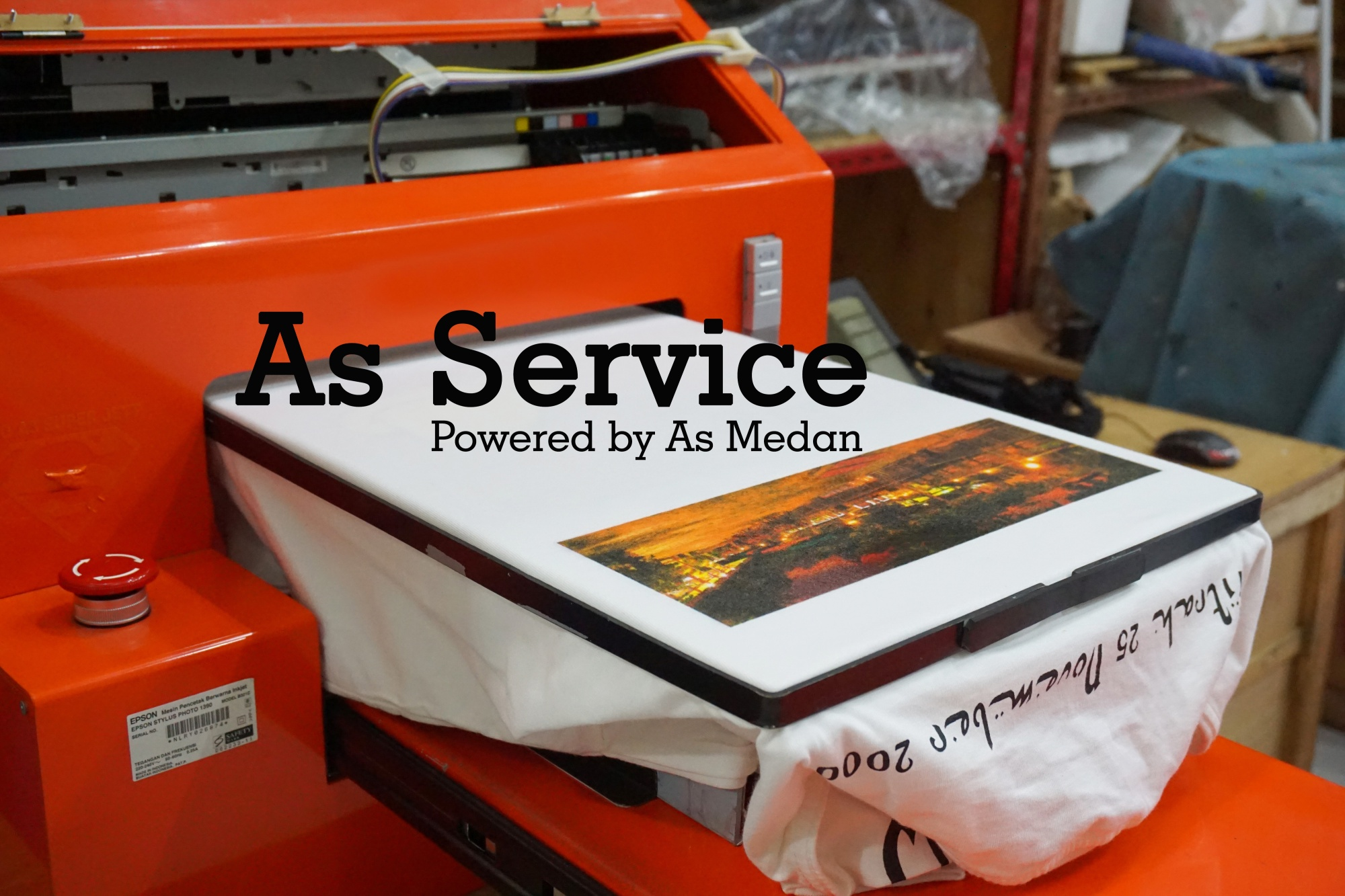 As Service Pusat service mesin printer DTG