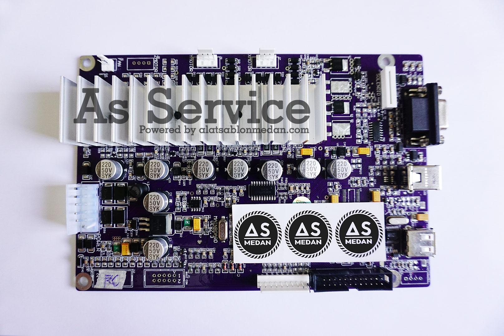 Sparepart mainboard mesin cutting sticker rhinotec teneth