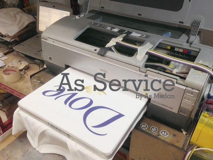 Pusat service mesin printer DTG kota medan