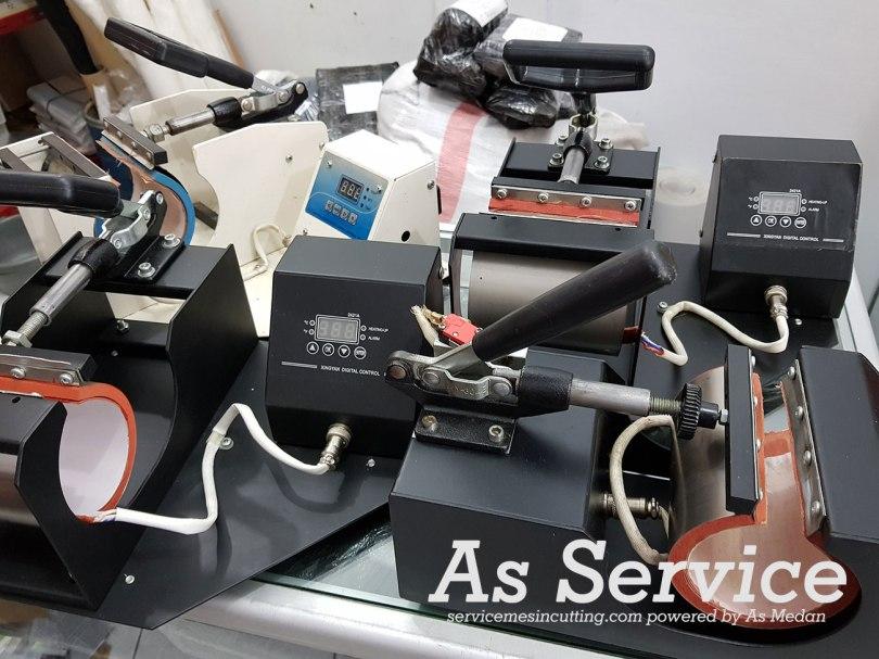 service mesin press mug